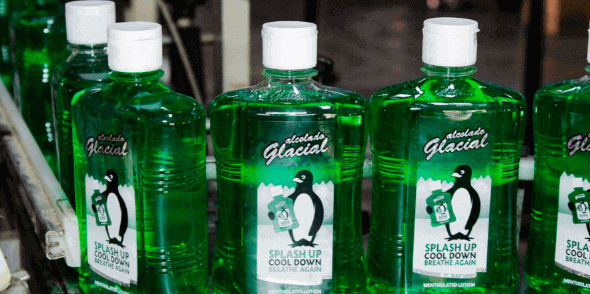 The Alcolado Glacial is a Curaçaoan product that is known everywhere.